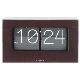 Designové stolní překlápěcí hodiny 5620DW Karlsson 21cm