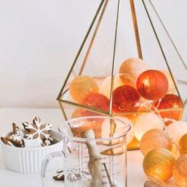 BallDesign Cookies (sada 20 balónků) -  Svíticí bavlněné koule