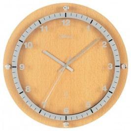 Designové nástěnné hodiny AT4284-30 řízené signálem DCF