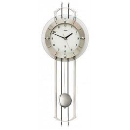Luxusní kyvadlové nástěnné hodiny 5248 AMS řízené rádiovým signálem 68cm
