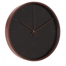 Designové nástěnné hodiny KA5550BK Karlsson 38cm