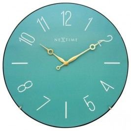 Designové nástěnné hodiny 3158tq Nextime Trendy Dome 35cm
