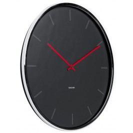 Designové nástěnné hodiny 5643GY Karlsson 40cm