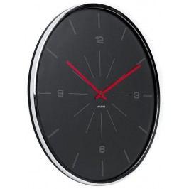 Designové nástěnné hodiny 5644GY Karlsson 40cm