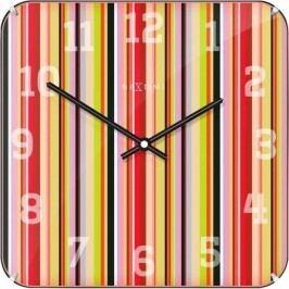 Designové nástěnné hodiny 3169 Nextime Smithy Dome Square 35cm