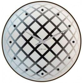 Designové nástěnné hodiny 8185zi Nextime Pendula Round 43cm