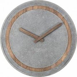 Designové nástěnné hodiny 3211 Nextime Concreto 40cm