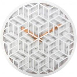 Designové nástěnné hodiny 3215wi Nextime Discrete 36cm
