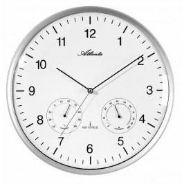 Designové nástěnné hodiny AT4363-19 řízené signálem DCF