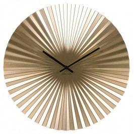 Designové nástěnné hodiny 5658GD Karlsson 50cm