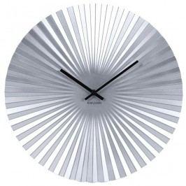 Designové nástěnné hodiny 5658SI Karlsson 50cm