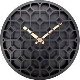 Designové nástěnné hodiny 3215zw Nextime Discrete 36cm