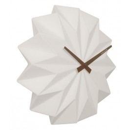 Designové nástěnné hodiny KA5531WH Karlsson Origami 27cm