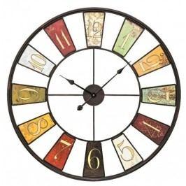 Designové nástěnné kovové hodiny 9488 AMS 80cm