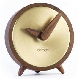Designové stolní hodiny Nomon Atomo Gold 10cm