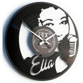 Designové nástěnné hodiny Discoclock 092 Ella Fitzgerald 30cm