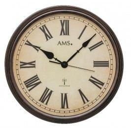 Nástěnné hodiny 5977 AMS řízené rádiovým signálem 42cm