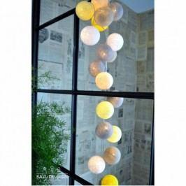 BallDesign Taxi Taxi(sada 20 balónků) -  Svíticí bavlněné koule