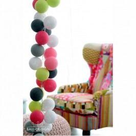 BallDesign Bitter sweet symphony (sada 20 balónků) -  Svíticí bavlněné koule