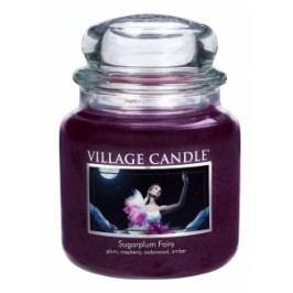 Village Candle Village Candle vonná svíčka ve skle PŮLNOČNÍ VÍLA - SUGARPLUM FAIRY