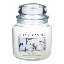 Village Candle Village Candle vonná svíčka ve skle Čisté prádlo - Pure Linen 397 g