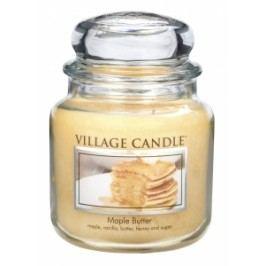 Village Candle Village Candle vonná svíčka ve skle JAVOROVÝ SIRUP - MAPLE BUTTER 397 g