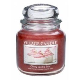 Village Candle Villafe Candle vonná svíčka ve skle VIŠEŇ A VANILKA - CHERRY VANILLA SWIRL 397g