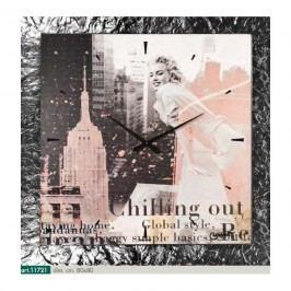 Originální nástěnné hodiny 11721 Lowell Prestige 80cm