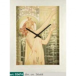Originální nástěnné hodiny 05474 Lowell Prestige 44cm