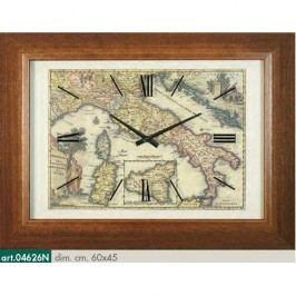 Originální nástěnné hodiny 04626N Lowell Prestige 60cm