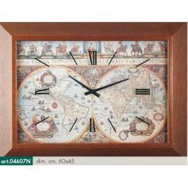 Originální nástěnné hodiny 04607N Lowell Prestige 60cm