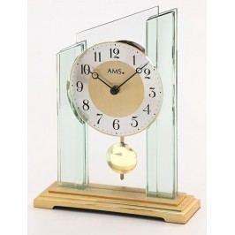 Stolní kyvadlové hodiny 1167 AMS 23cm
