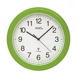 Nástěnné hodiny 5958 AMS řízené rádiovým signálem 30cm