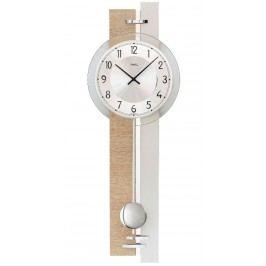 Kyvadlové nástěnné hodiny 7441 AMS 67cm