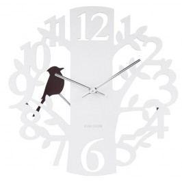 Designové nástěnné hodiny 5690WH Karlsson 40cm