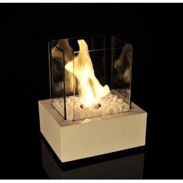 Bio Fires Biokrb Glass Cube II BÍLÝ