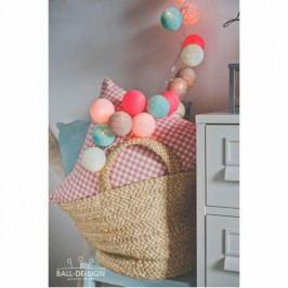 BallDesign Neon (sada 20 balónků) -  Svítící bavlněné koule