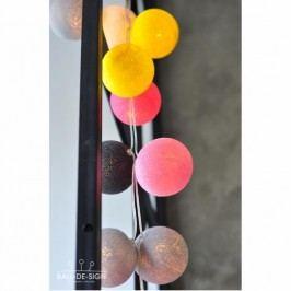 BallDesign Follow the sun (sada 20 balónků) -  Svítící bavlněné koule