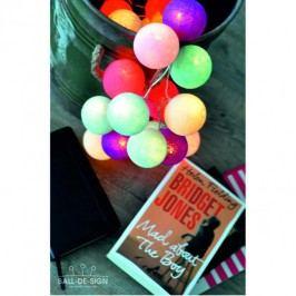 BallDesign Mad about the boy (sada 20 balónků) -  Svítící bavlněné koule