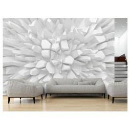 Murando DeLuxe 3D Rostoucí krystaly 150x105 cm