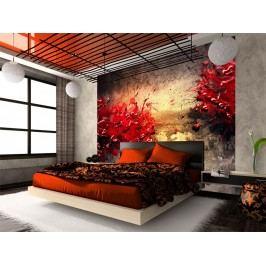 Murando DeLuxe Červený vulkán 150x116 cm
