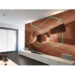 Murando DeLuxe Tapeta akvamarínová stezka 150x105 cm