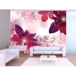 Murando DeLuxe Tapeta květinová dekorace 150x116 cm