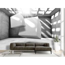 Murando DeLuxe 3D tapeta kvádry 150x105 cm