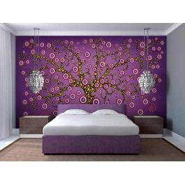 Murando DeLuxe Tapeta abstraktní strom 150x116 cm