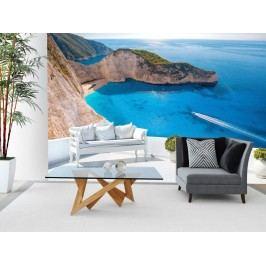 Murando DeLuxe Tapeta azurové pobřeží 150x105 cm