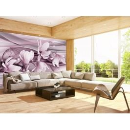 Murando DeLuxe Ve fialovém hávu 150x105 cm