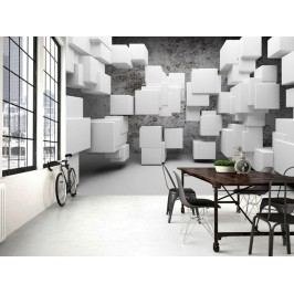 Murando DeLuxe 3D tapeta kostky 150x105 cm