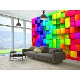 Murando DeLuxe 3D tapeta (150x105 cm) -  v rytmu barev