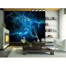 Murando DeLuxe Modrý blesk 150x116 cm